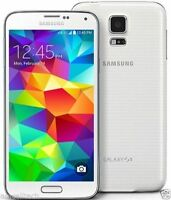 "Blanco 5.1"" Samsung Galaxy S5 G900T 4G LTE 16GB 16MP Libre Telefono Movil Phone"