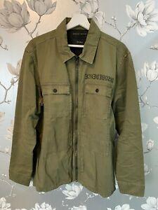Zara Man Khaki Bomber Jacket XL