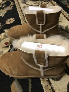 UGG Classic Mini Spill Seam Boot Women Size 10 Color As Shown In Picture