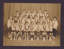ANTIQUE SCHOOL PHOTO / BARNARD SCHOOL FOR GIRLS  NYC / 1927