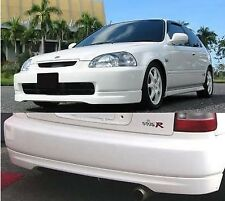 Honda civic JDM TypeR style EK9 EK4 EJ9 VTi front and rear lip splitter 96 - 98