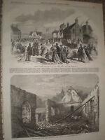 Little boys home Horton Kirby & ruins court lodge farm Chillingham 1867 prints