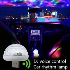 Hot Car Interior Colorful Lamp USB LED Music Party Decor Atmosphere Neon Lights