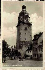 Bamberg Bayern Altenburg ~1940 Nikolaikirche Kirchturm Turm Verlag Trinks Kirche