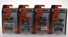 MATCHBOX en una misión 3 Pack Set de regalo surtido Cars Lote de 4
