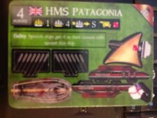 Pirates of the South China Seas #207 HMS Patagonia Pocketmodel Mint