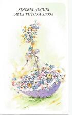 1 card Italian B 00006000 ridal Shower card Futura Sposa Future Bride to be