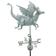 Good Directions Dragon Weathervane - Blue Verde Copper 9672V1