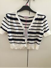 Be Beau Ladies Short Sleeve Cardigan Size 14