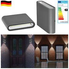 LED Wandleuchte Wandlampe Flach   Innenraum Aussenraum   Fassade Wandstrahler  