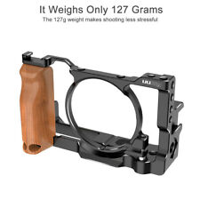 For Sony RX100 VI / VII Camera Metal Cage Quick Release Plate Bracket Grip