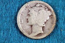Estate Find 1919 Mercury Dime! #F2469