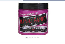 High Volatage Manic Panic Cotton Candy Pink Began Hair Colour 118ml