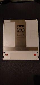 USED TDK MO-R2300 2.3Gb Rewritable Media Disk