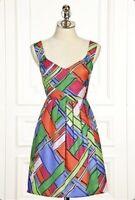 Anthropologie Leifsdottir Calliope Silk Plaid Dress - Originally $240