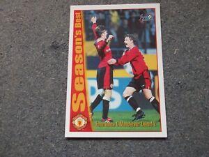 Futera 1997 DAVID BECKHAM (Man Utd) Seasons Best  Rookie Card No 53