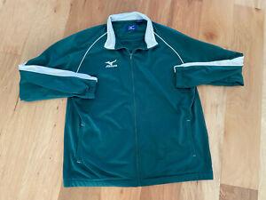 Vintage 90's euc! MIZUNO Green L/S Pullover Activewear BIG & TALL XXL  2XL