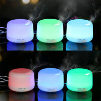 6 Colour 3 LED Humidifier Air Aroma Essential Oil Diffuser Aromatherapy,Atomizer