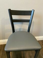 Used Restaurant Chairs, Black w/padded seats (55 Chairs)