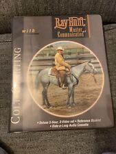 Ray Hunt Horseman Training Master Of Communication. Colt Starting 3 Videos Vhs