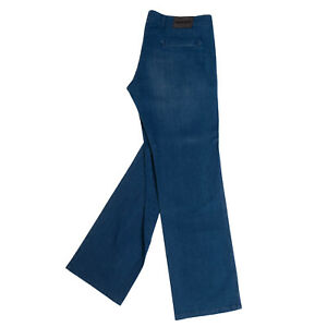 RRP €565 GIORGIO ARMANI Denim Chino Trousers Size 58 / 3XL Faded Made in Italy