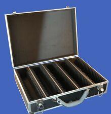 100 Graded Certified NGC/PCGS/Elite Coin Slab Aluminum Black Storage Travel Box