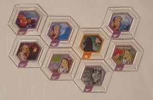 Disney Infinity 1.0: Bundle of 8 Hexagonal Power Discs #1