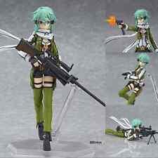 """Anime Sword Art Online II Asada Shino Sinon 6"""" Figma PVC Figure 241 New in Box"""