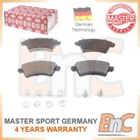OEM MASTER-SPORT HD FRONT DISC BRAKE PAD SET FOR CITROEN PEUGEOT FOR SUBARU