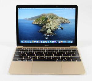 """Apple MacBook 2017 12"""" I5 1.3GHZ 8GB 500GB SSD WEBCAM WIFI BT CATALINA"""