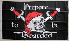 Pirate Flag Prepare to be Boarded Large Pirates Flag AUSPOST REGISTERED TRACKING