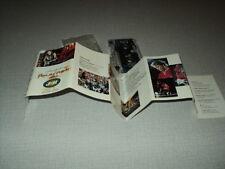 JOHNNY HALLYDAY K7 AUDIO HOLLANDE PARC DES PRINCES 1993