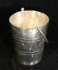Pairpoint Silverplate Ice Bucket Champagne Wine Cooler W M Mounts EPNS 2513 6""