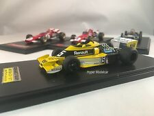 TAMEO KIT 1/43 Renault F1 RS01 #15 Elf British Gp J.P. Jabouille Art.TMK381