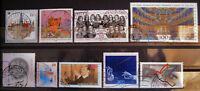 Briefmarken Bund 1998 Lot gestempelt MichelNr. 1965-2026 Opernhaus Bayreuth