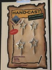 4 Lead Free Hand Cast Magical Wand For Stained Glass Or Other Projects