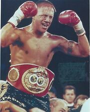 FERNANDO VARGAS 8X10 PHOTO BOXING PICTURE WITH BELT WHITE BORDER