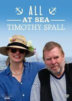 ALL AT SEA NEW DVD TIMOTHY SPALL BBC MARITIME TRAVEL SERIES ANOTHER 4 EPISODES