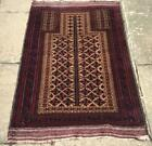 Very Fine Quality BELOUCH PRAYER  RUG Hand Made Wool Rug From MIDDLE EAST