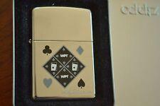 ZIPPO Lighter, World Poker Tour / WPT, 2005, Sealed, M916
