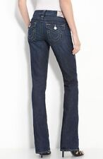 $176 NEW True Religion Brand Jeans 27 x 34 Becky Lowrise Bootcut Houston Denim