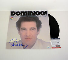 PLACIDO DOMINGO THREE TENORS SIGNED DOMINGO! VINYL RECORD ALBUM PSA/DNA COA