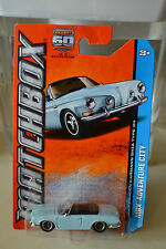MATCHBOX VOLKSWAGEN KARMANN GHIA TYPE 34 CONVERTIBLE HIGHLY DETAILED NEW