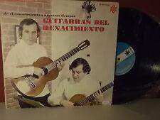 """Guitarras del Renacimiento """" La quinta de granados """" Lloro """" LP VG+"""