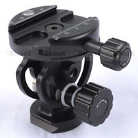 iShoot 2D Ball Head + Clamp for Camera Tripod Monopod & Quick Release Plate