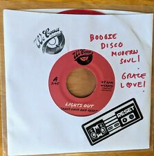 """Limited Edition 7"""" Red Vinyl - Grace Love And Reset - Lights Out/Cruise Control"""
