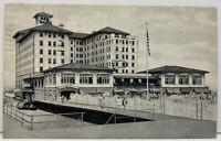 New Jersey NJ Shore The Flander's Hotel, Ocean City Vintage Photo Postcard
