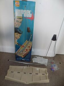 IMPACT Ideal boxed game 1971 Vintage Boxed unused Contents still sealed RARE