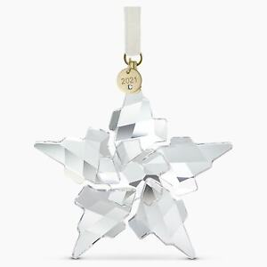 Swarovski Crystal 2021 ANNUAL EDITION LARGE CHRISTMAS ORNAMENT 5557796 AUTHENTIC