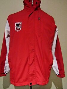 NRL St.George/Illawarra Dragons SML Fleece lined Rugby League Supporters Jacket